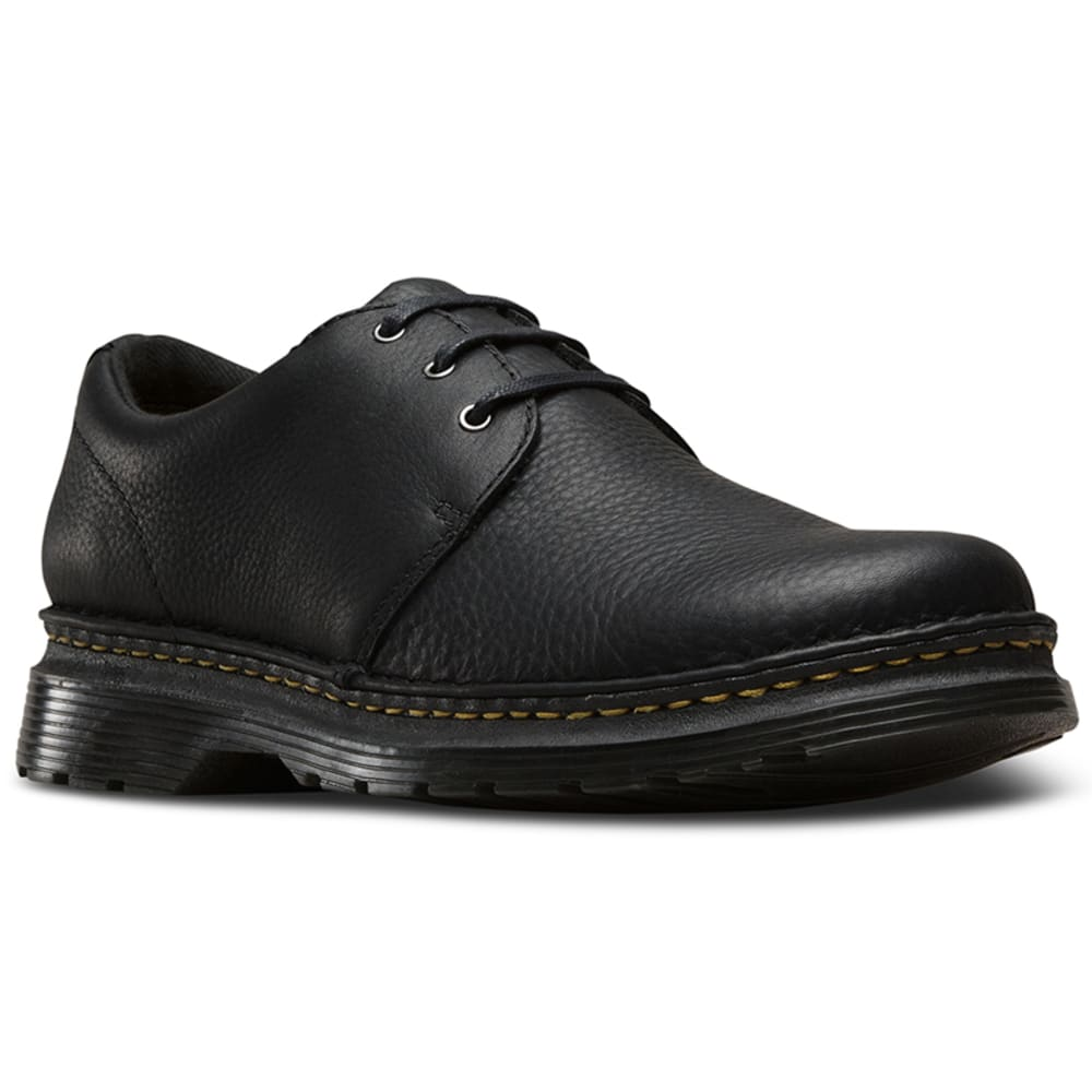 Dr. Martens Men's Hazeldon Casual Shoes, Black Grizzly