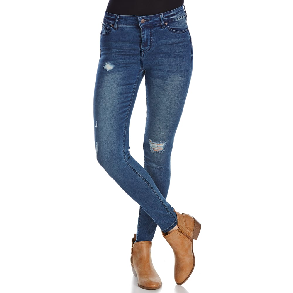 CELEBRITY PINK Juniors' Tencel Ankle Jeans - MESMERIZE
