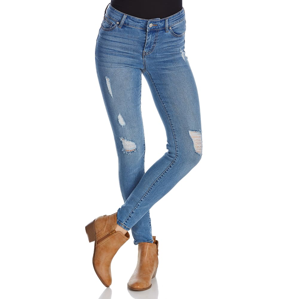 CELEBRITY PINK Juniors' Tencel Ankle Jeans - BAJA