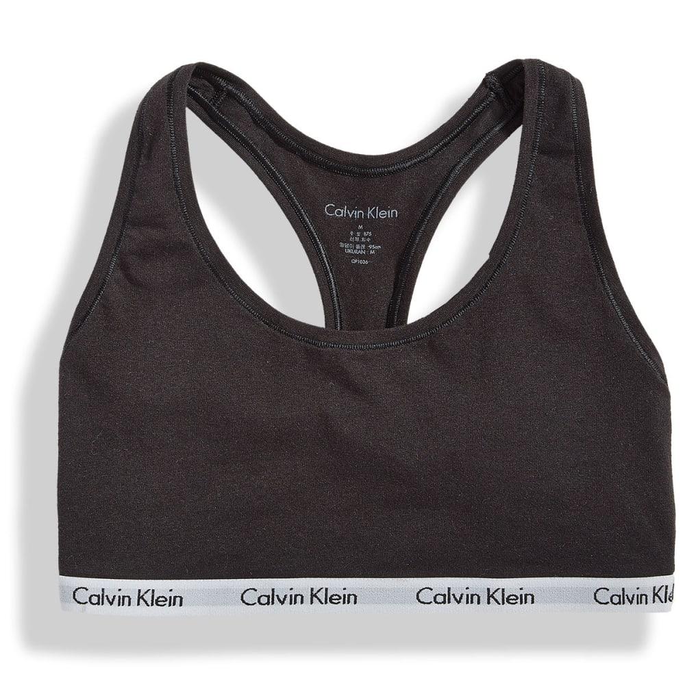 CALVIN KLEIN Women's Carousel Bralette - BLACK