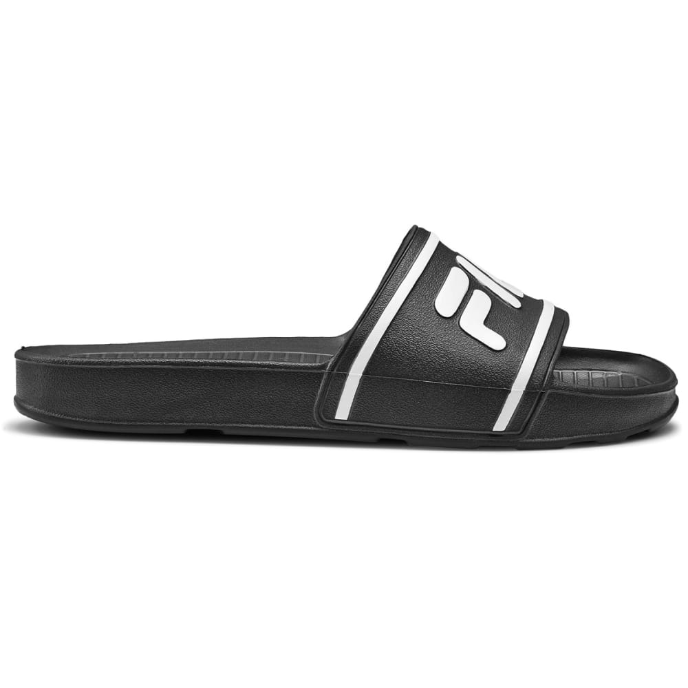 FILA Men's Sleek Slide It Sandals - BLACK - 021