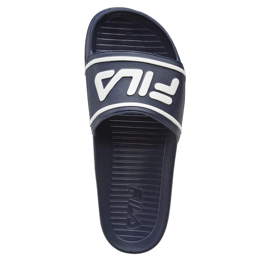 FILA Men's Sleek Slide It Sandals - NAVY -426