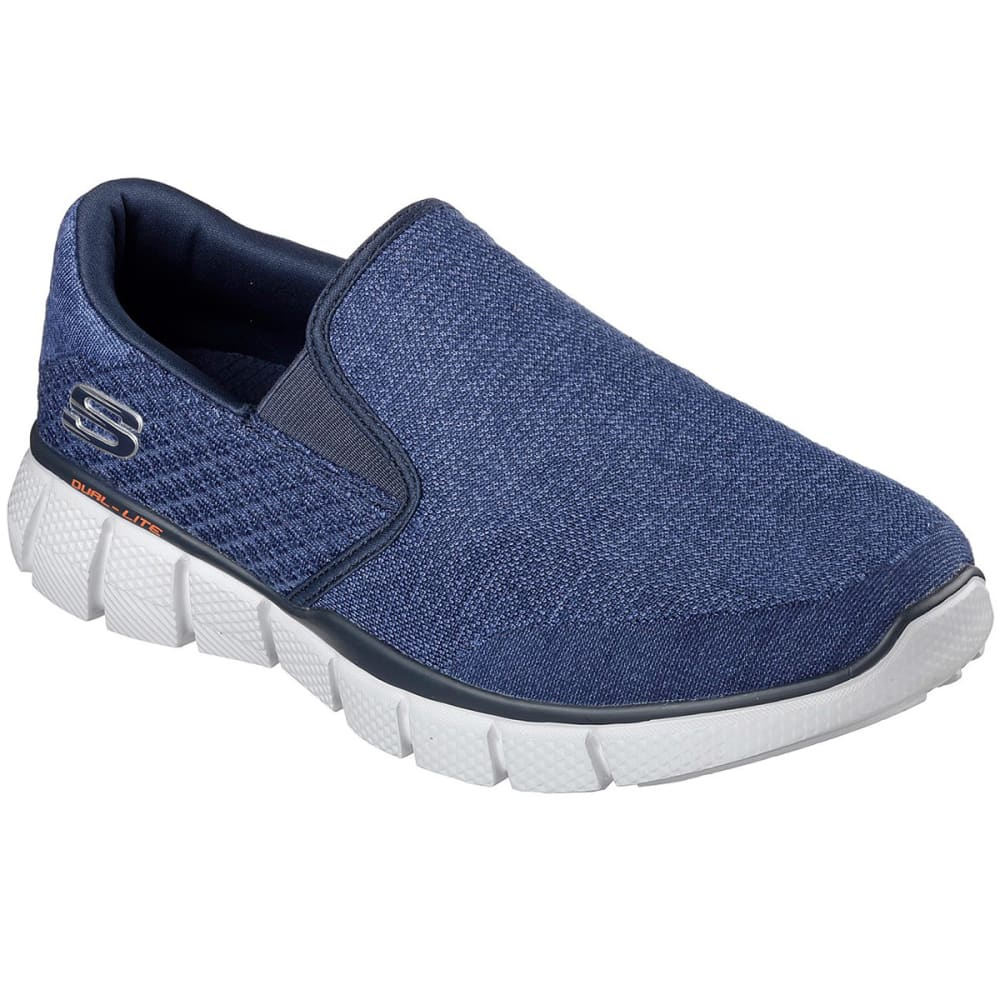 SKECHERS Men's Equalizer 2.0 Slip-On Sneakers, Navy - NAVY