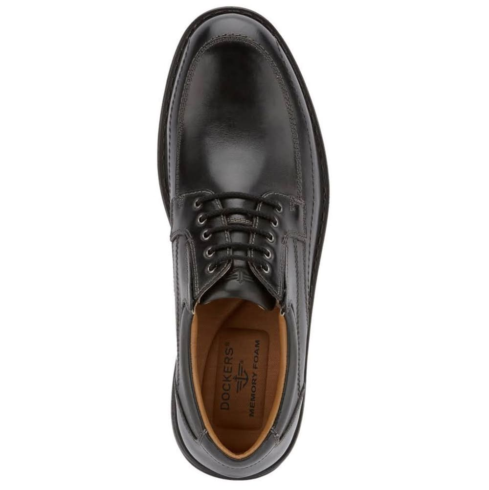 DOCKERS Men's Barker Oxford Shoes, Black - BLACK