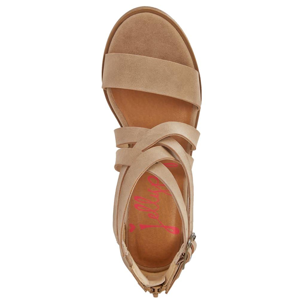 JELLYPOP Women's Honeydew Block Heel Sandals - SAND
