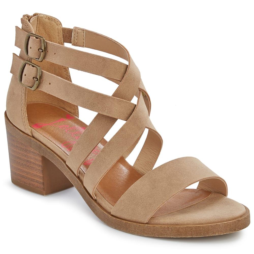JELLYPOP Women's Honeydew Block Heel Sandals 6