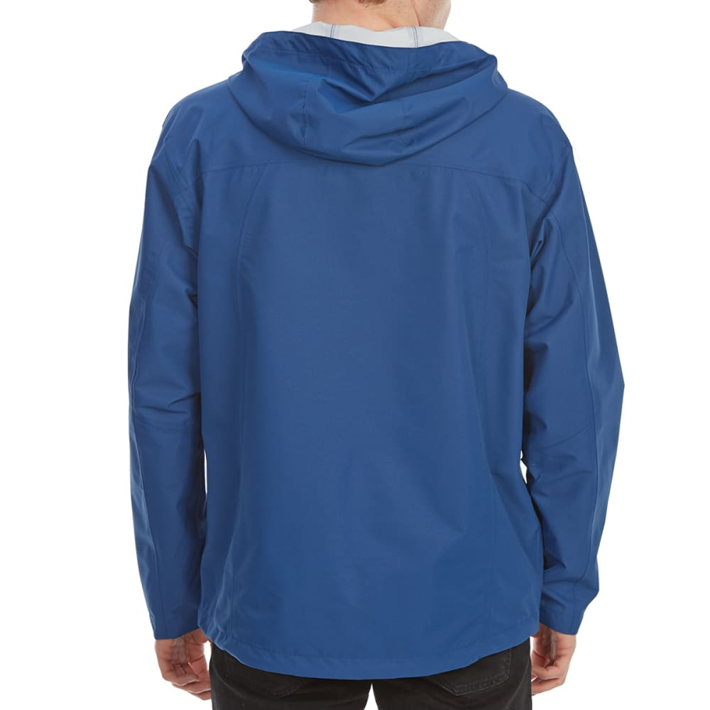FREE COUNTRY Men's Cubic Dobby Rain Jacket with Laser Pocket - ULTRA BLUE