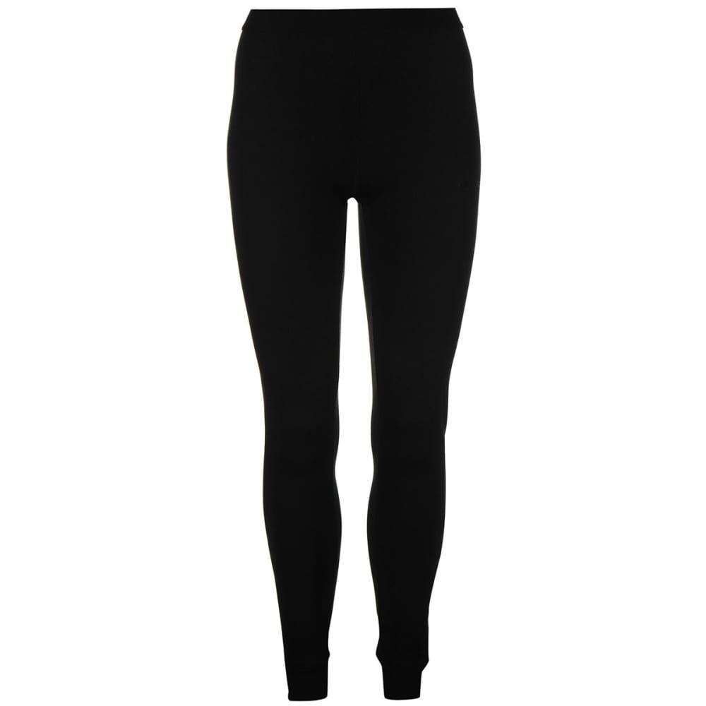 CAMPRI Women's Thermal Baselayer Tights - BLACK