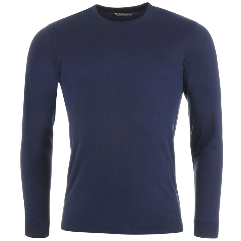 CAMPRI Men's Thermal Baselayer Top - NAVY