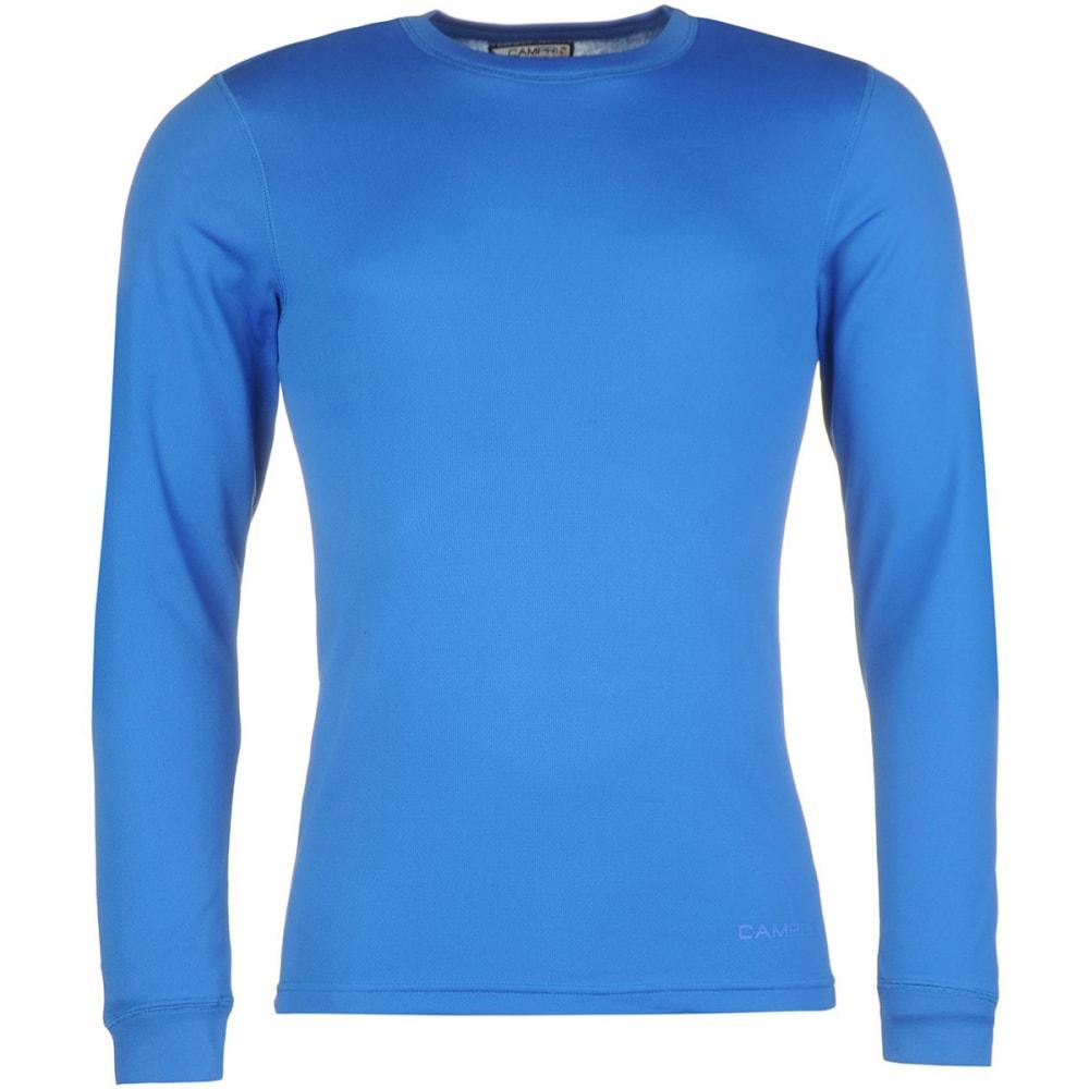 CAMPRI Men's Thermal Baselayer Top - BLUE