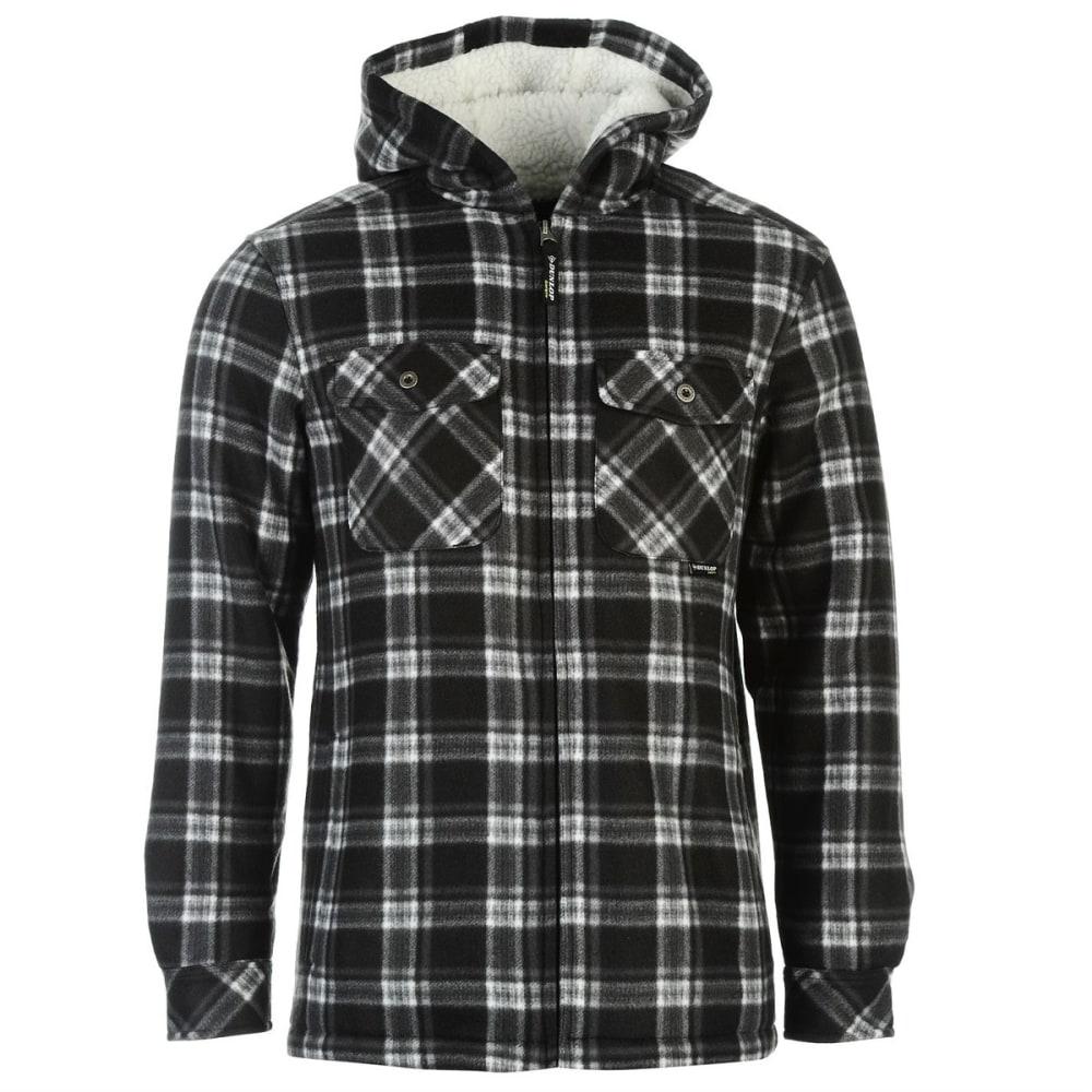 DUNLOP Men's Checkered Full-Zip Hoodie M