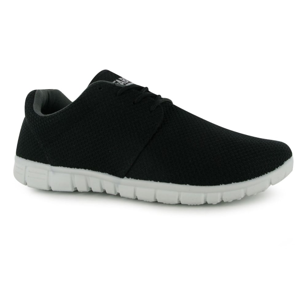 FABRIC Men's Mercy Running Shoes - BLACK/WHITE