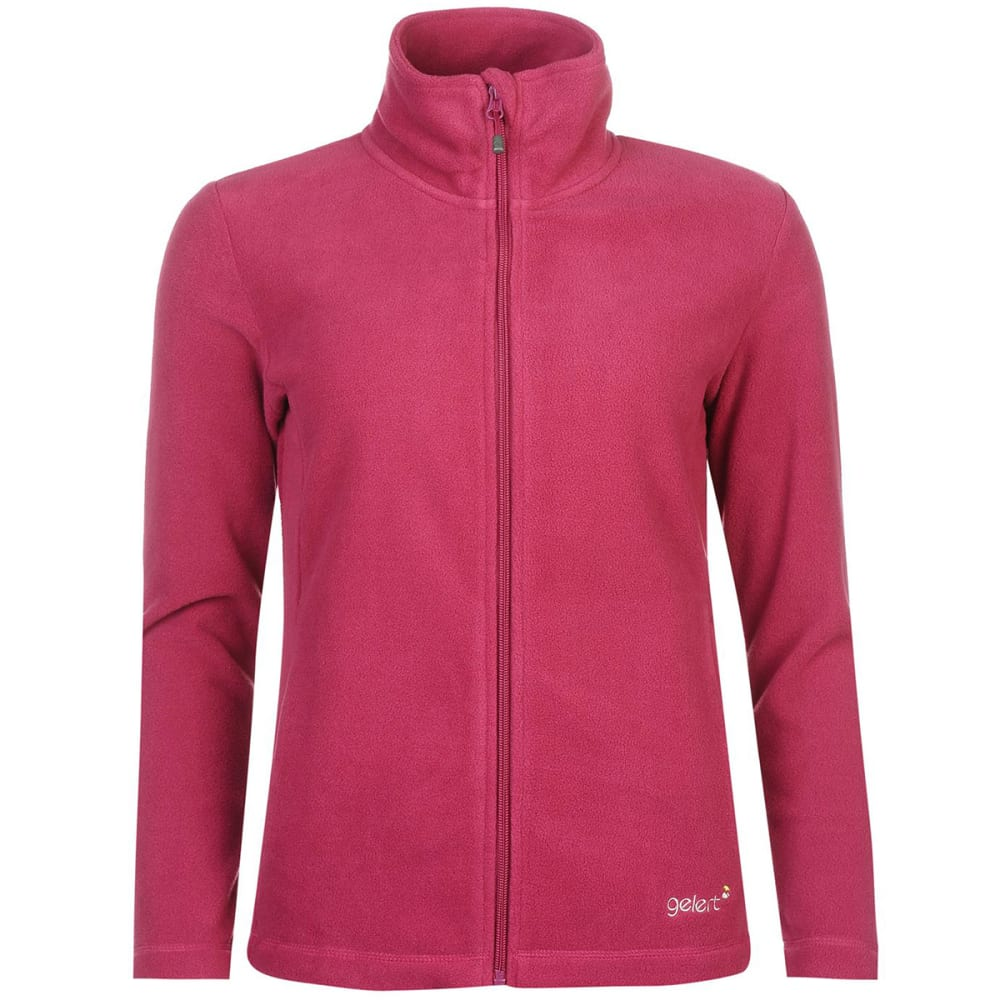 GELERT Women's Ottawa Fleece Jacket - Gelert Berry