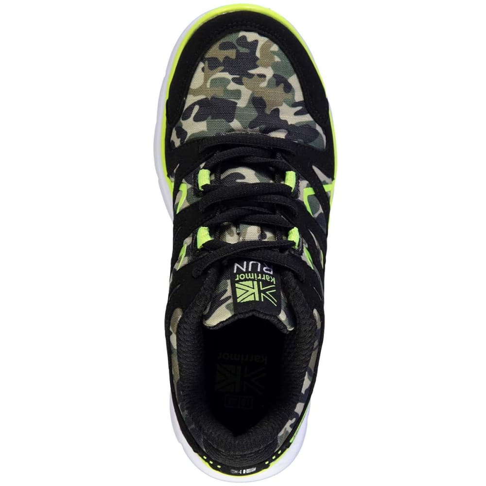KARRIMOR Boys' Duma Running Shoes - BLACK/CAMO