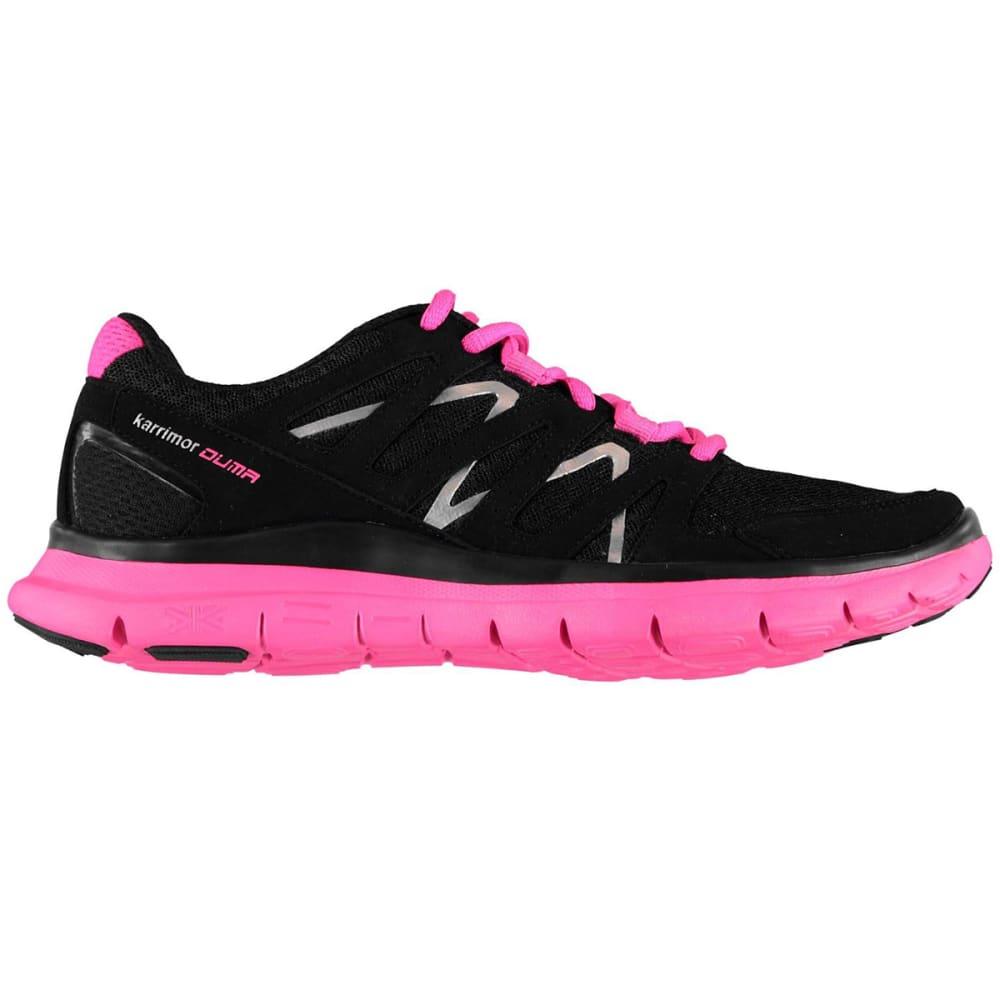 KARRIMOR Girls' Duma Running Shoes - BLACK/PINK