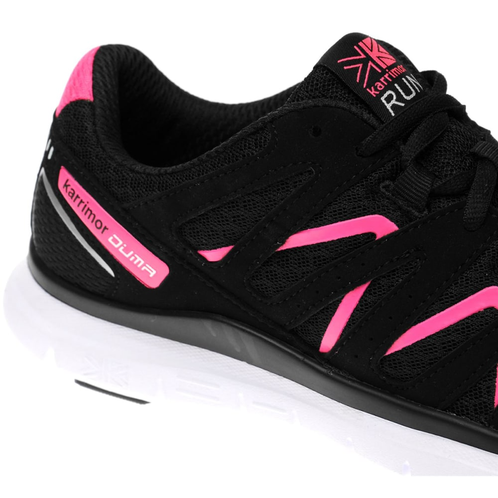KARRIMOR Women's Duma Running Shoes - BLACK/PINK