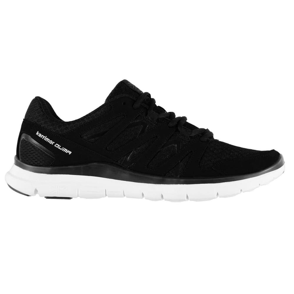 KARRIMOR Men's Duma Running Shoes - BLACK/SILVER