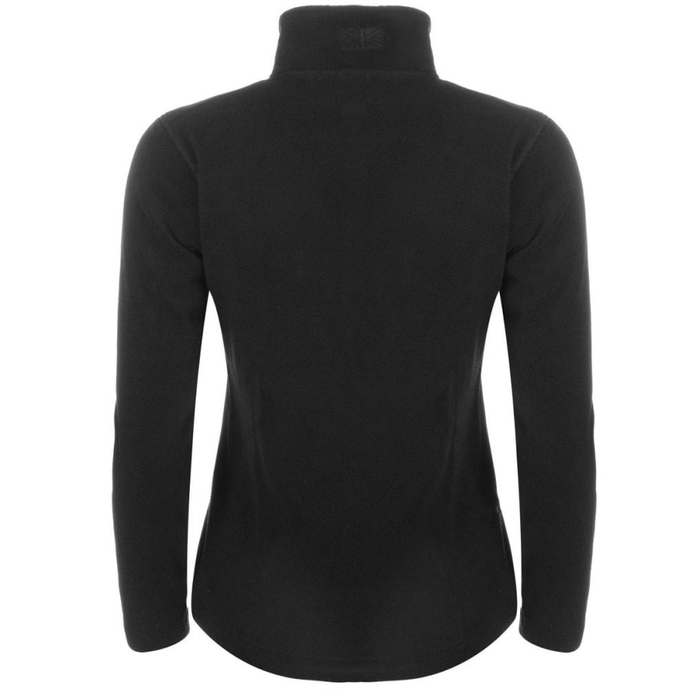 KARRIMOR Women's Fleece Jacket - BLACK