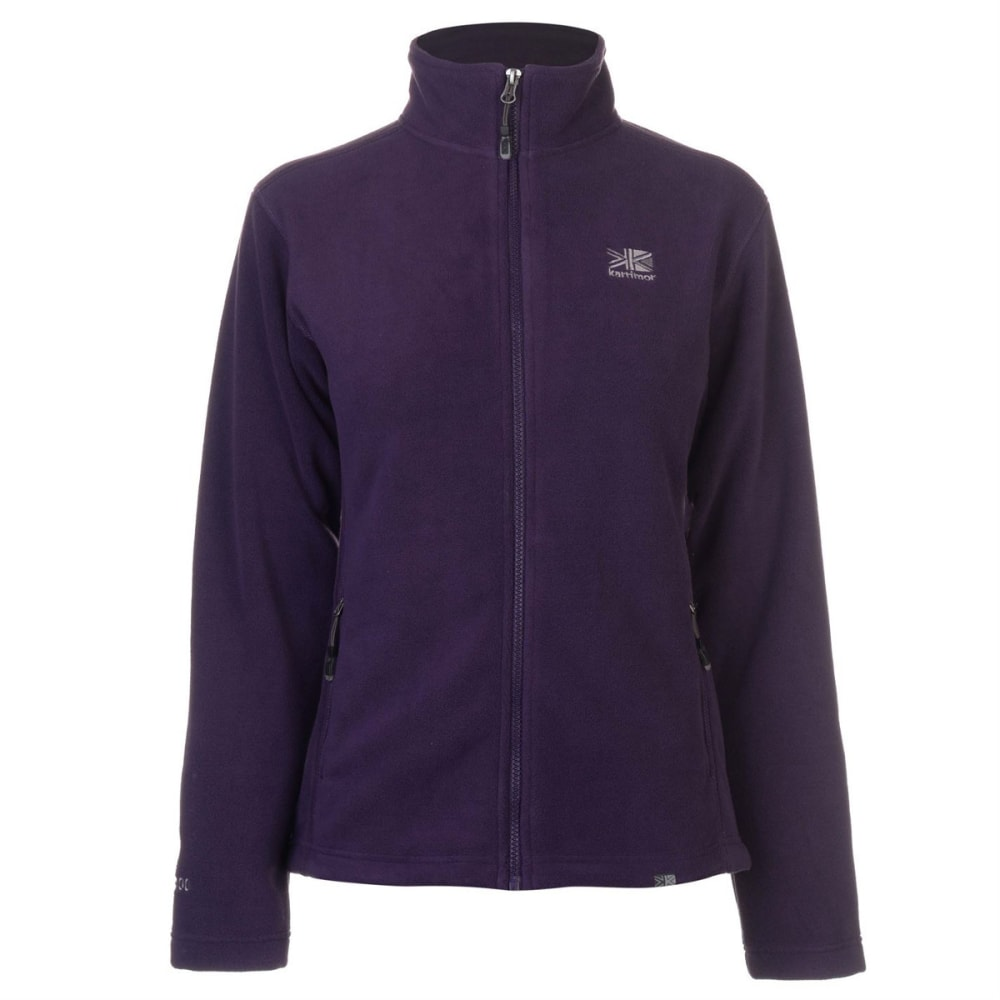 KARRIMOR Women's Fleece Jacket - PURPLE