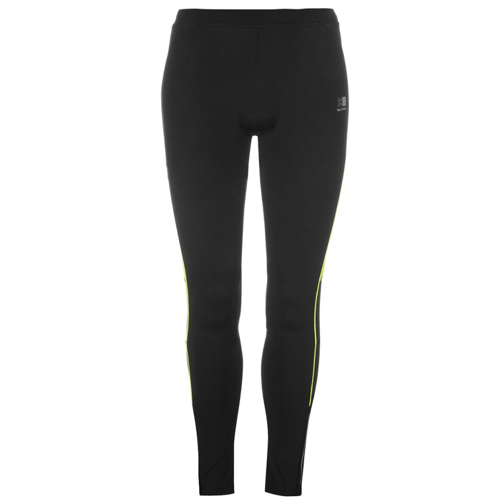KARRIMOR Women's Running Tights - Blk/Fluo Yell