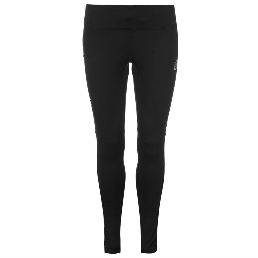KARRIMOR Women's X Lite Running Tights - BLACK