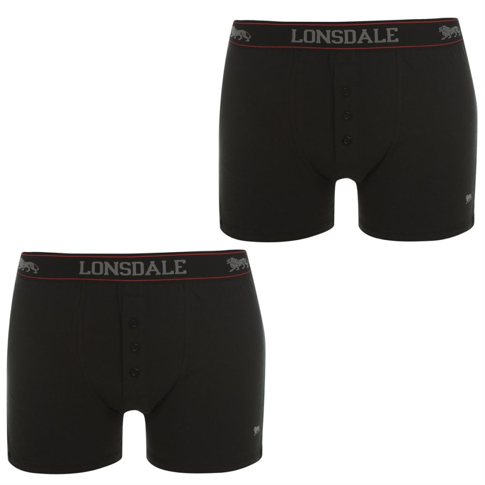LONSDALE Men's Boxers, 2-Pack S