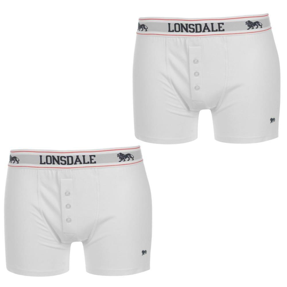 LONSDALE Men's Boxers, 2-Pack S