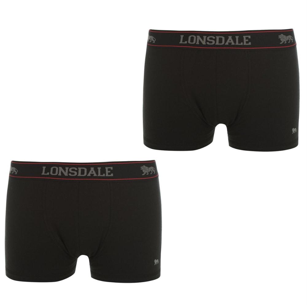 LONSDALE Men's Trunks, 2-Pack S