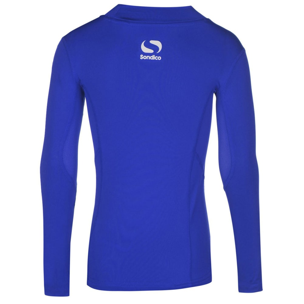 SONDICO Boys' Base Mock Neck Long-Sleeve Top - ROYAL