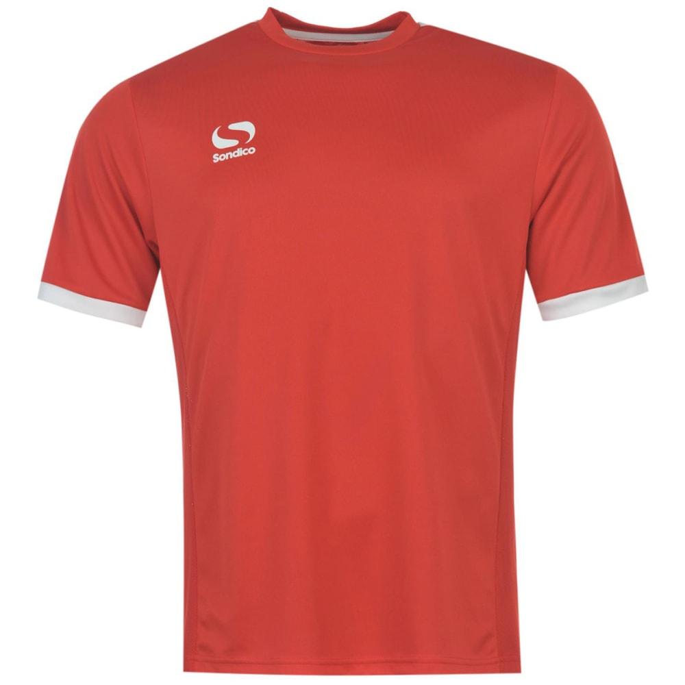 SONDICO Little Kids' Short-Sleeve Tee - RED/WHITE