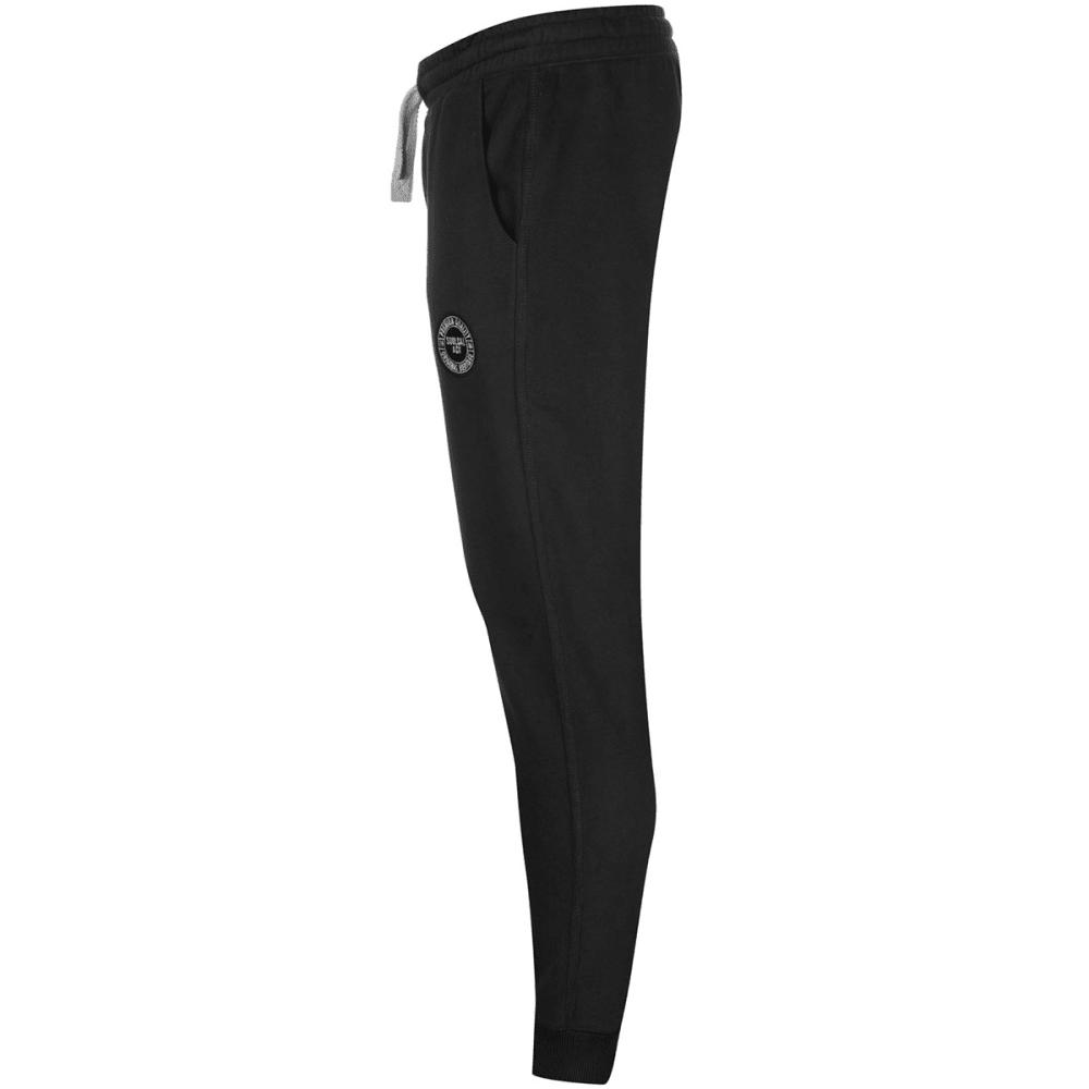 SOULCAL Men's Signature Fleece Jogger Pants - BLACK