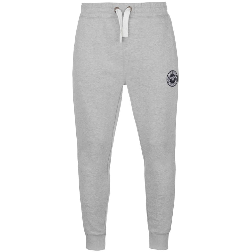 SOULCAL Men's Signature Fleece Jogger Pants - GREY MARL