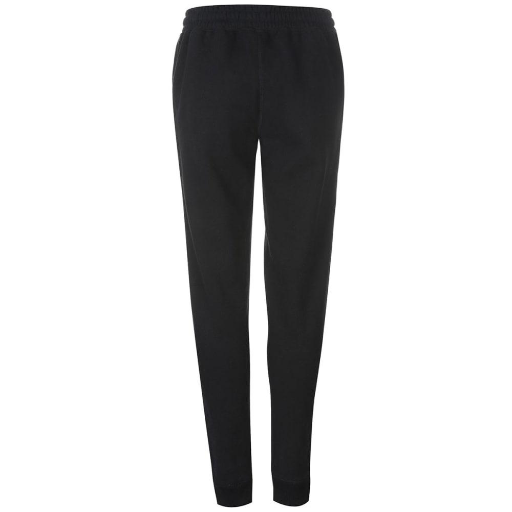 SOULCAL Women's Signature Fleece Jogger Pants - BLACK