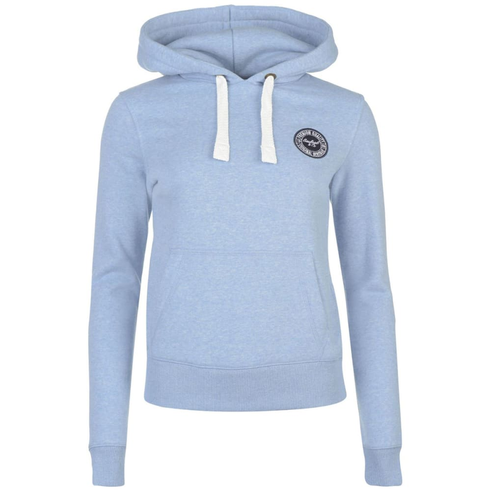 SOULCAL Women's Signature Pullover Hoodie - Pale Blue Marl