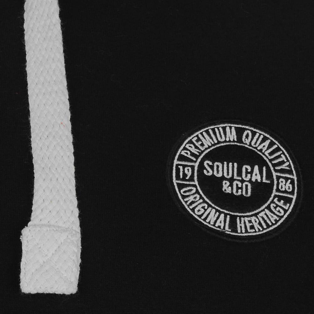 SOULCAL Men's Signature Pullover Hoodie - BLACK