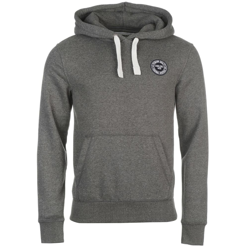 SOULCAL Men's Signature Pullover Hoodie - Dk Charcoal M