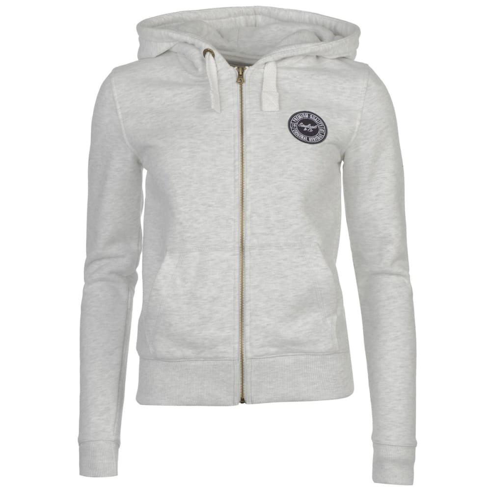 SOULCAL Women's Signature Full-Zip Hoodie - Ice Marl