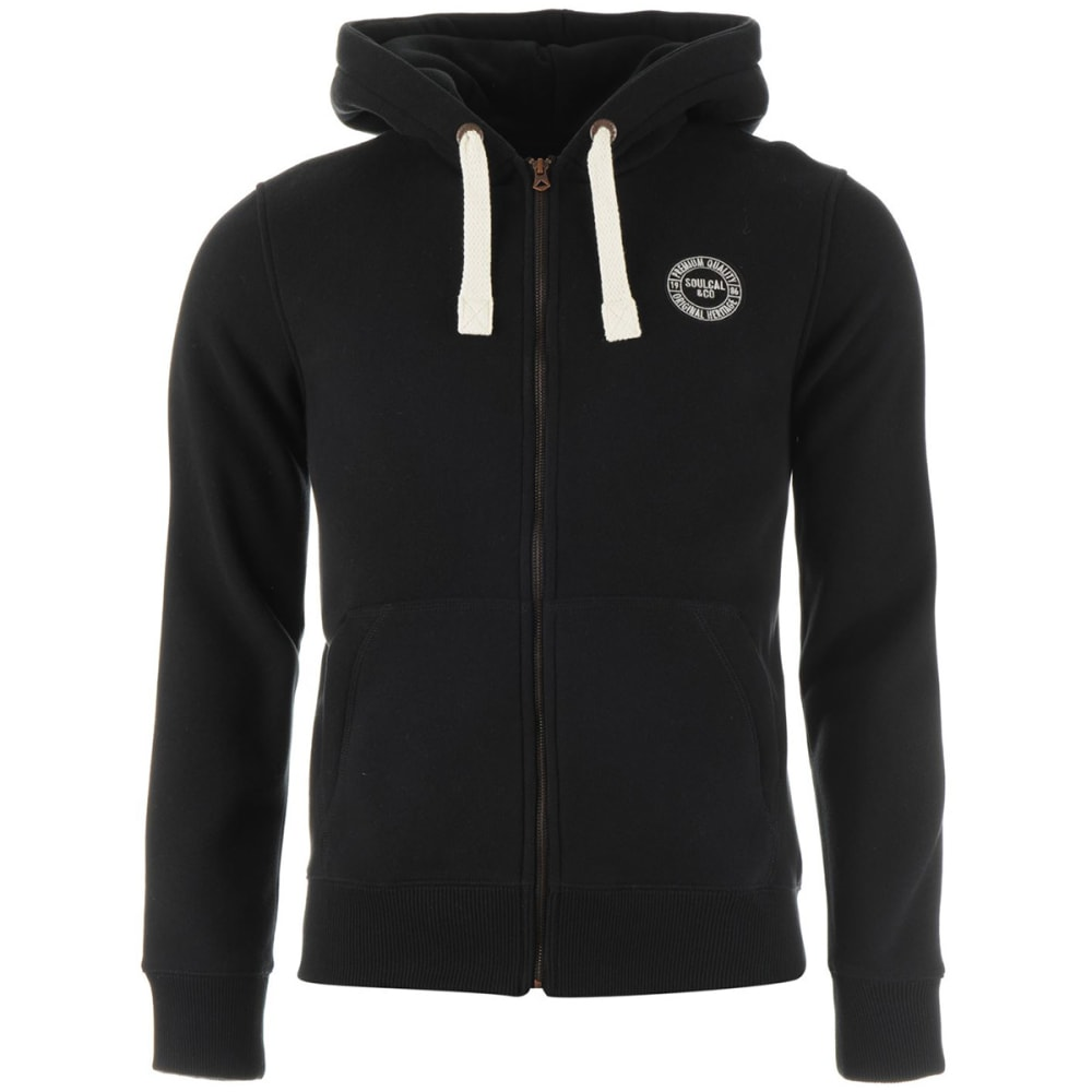 SOULCAL Men's Signature Full-Zip Hoodie - BLACK