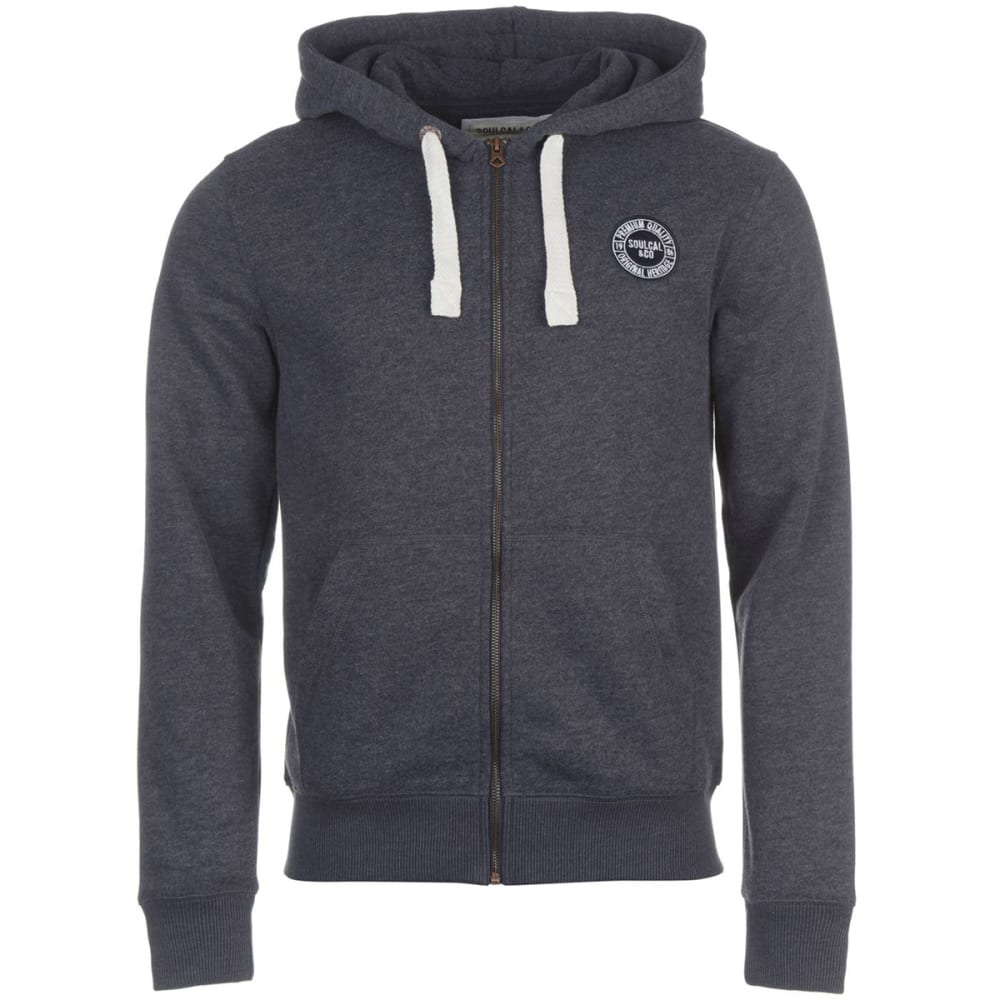 SOULCAL Men's Signature Full-Zip Hoodie XS