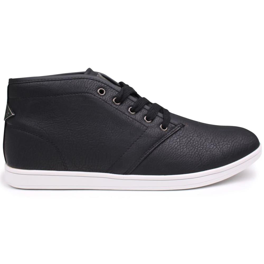 SOVIET Men's Whitehall Mid Sneaker Boots - BLACK