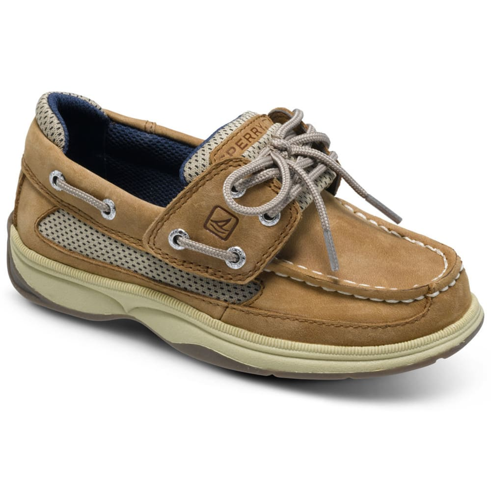 SPERRY Toddler Boys' Lanyard A/C Boat Shoes - TAN/NAVY