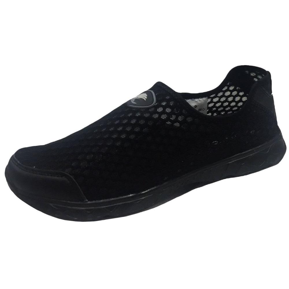 ISLAND SURF Men's Beach Runner Water Shoes - BLACK