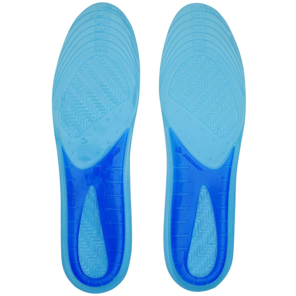 Dunlop Perforated Gel Insoles - Various Patterns, ONESIZE