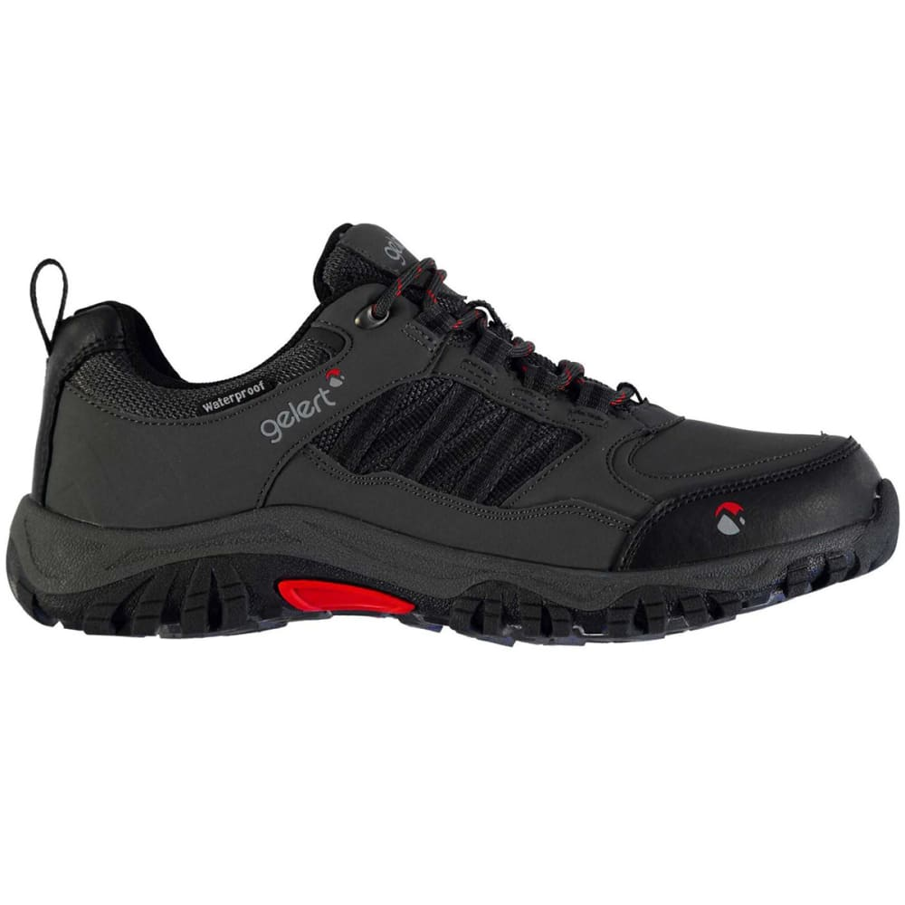 GELERT Men's Horizon Waterproof Low Hiking Shoes - CHARCOAL