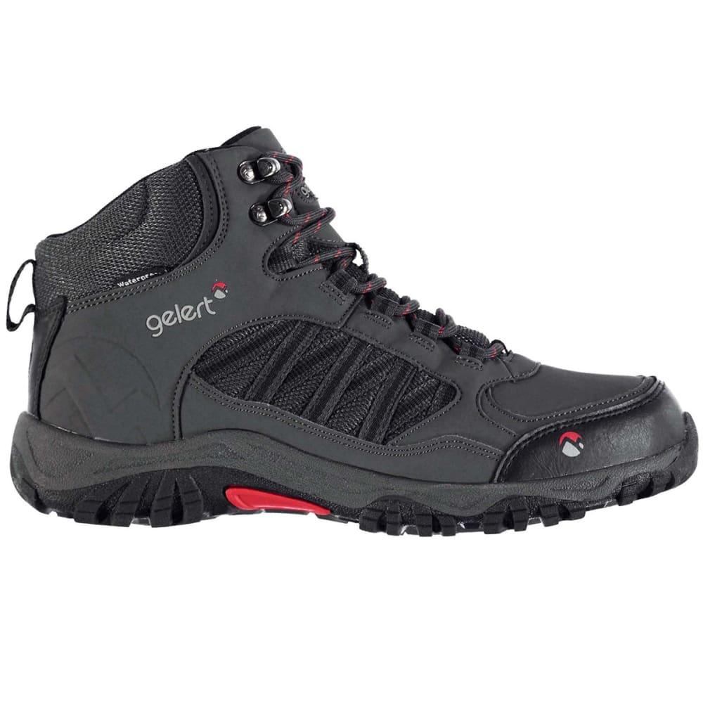 GELERT Men's Horizon Waterproof Mid Hiking Boots - CHARCOAL