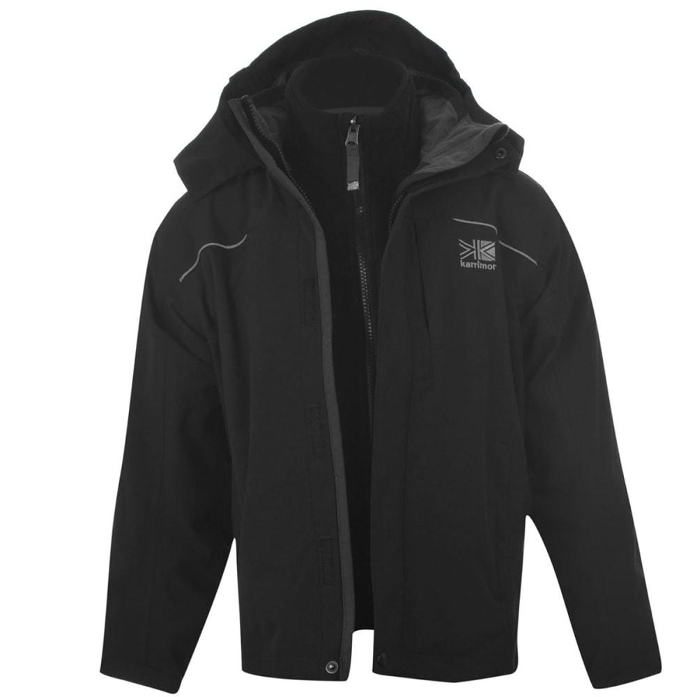 Karrimor Big Kids' 3-In-1 Jacket - Black, 11-12