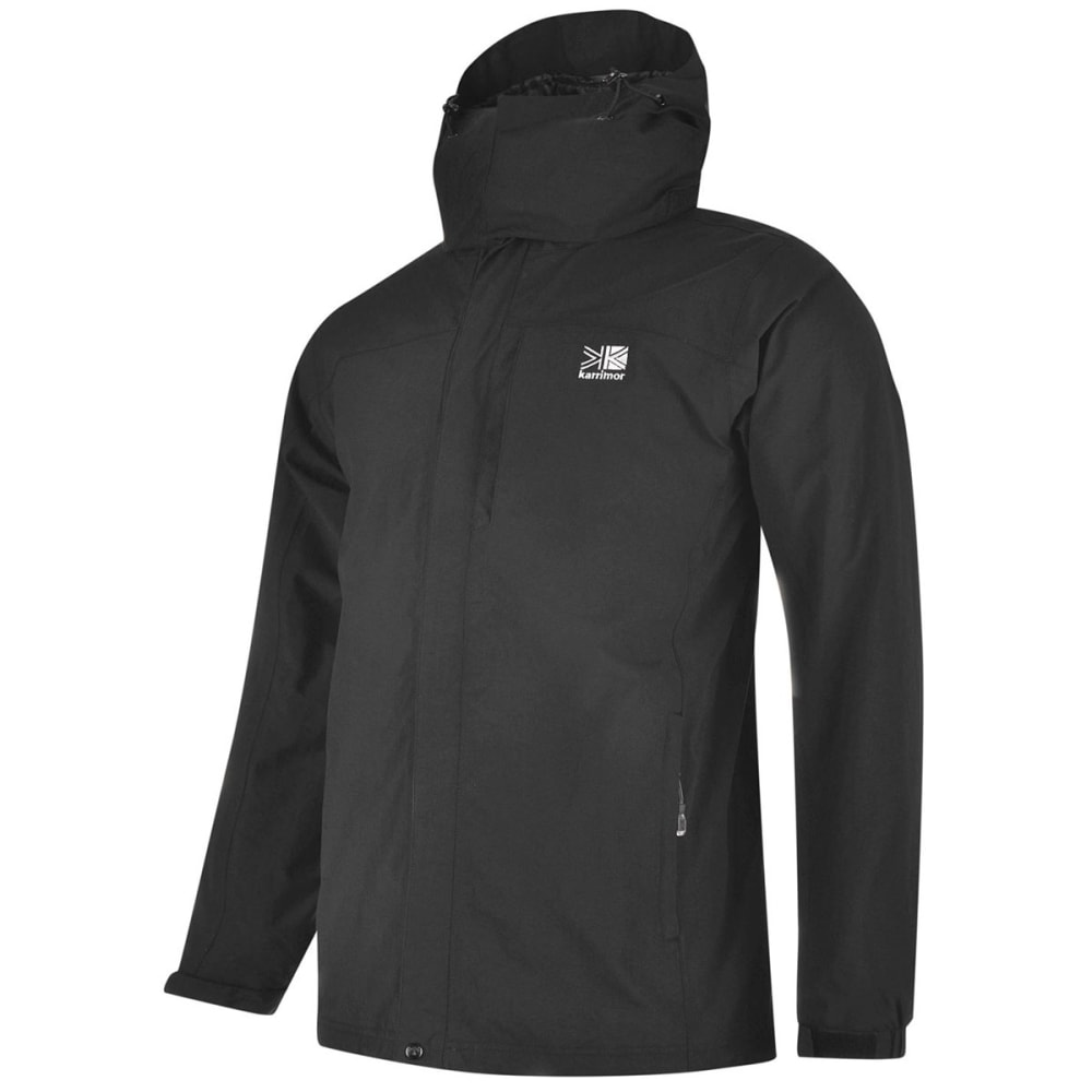 KARRIMOR Men's 3-in-1 Jacket - BLACK