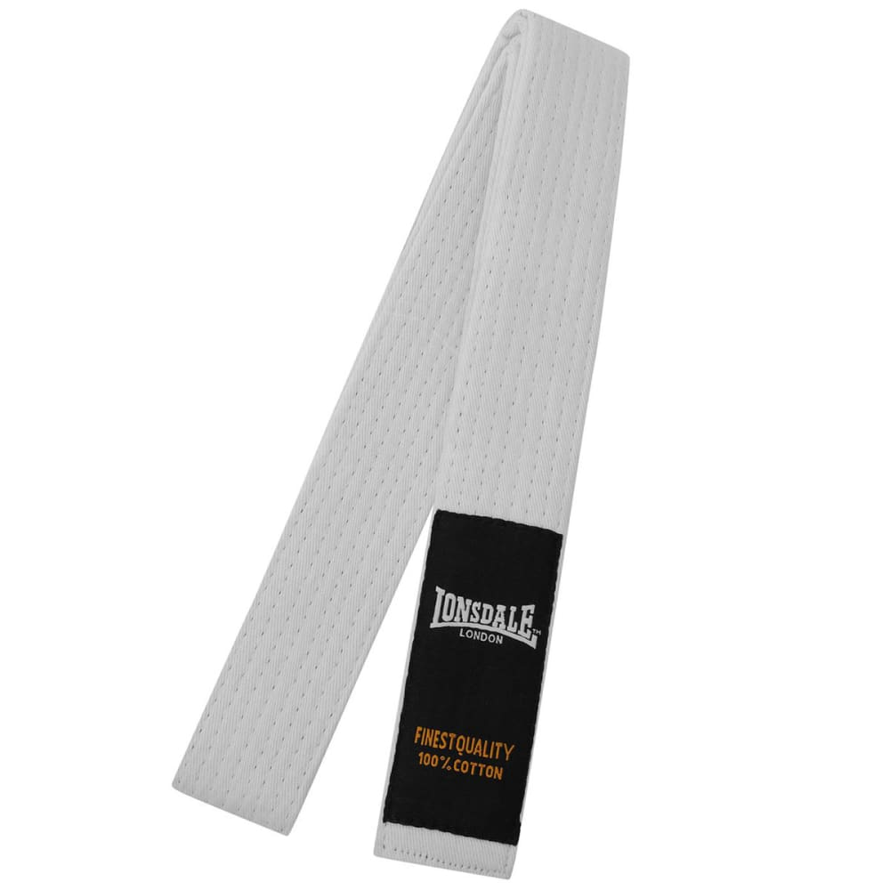 LONSDALE Martial Arts Belt - White Youth