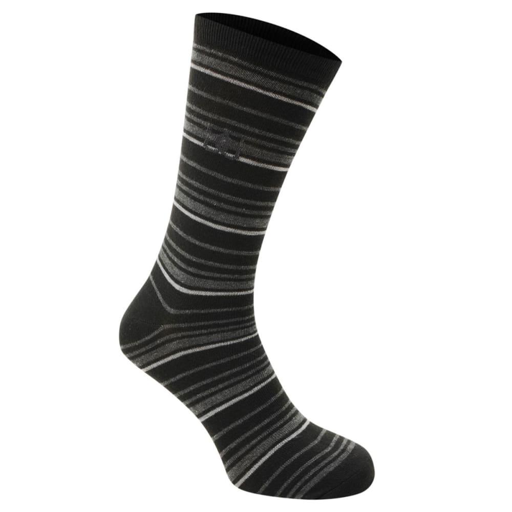 GIORGIO Men's Striped Socks, 4-Pack - -