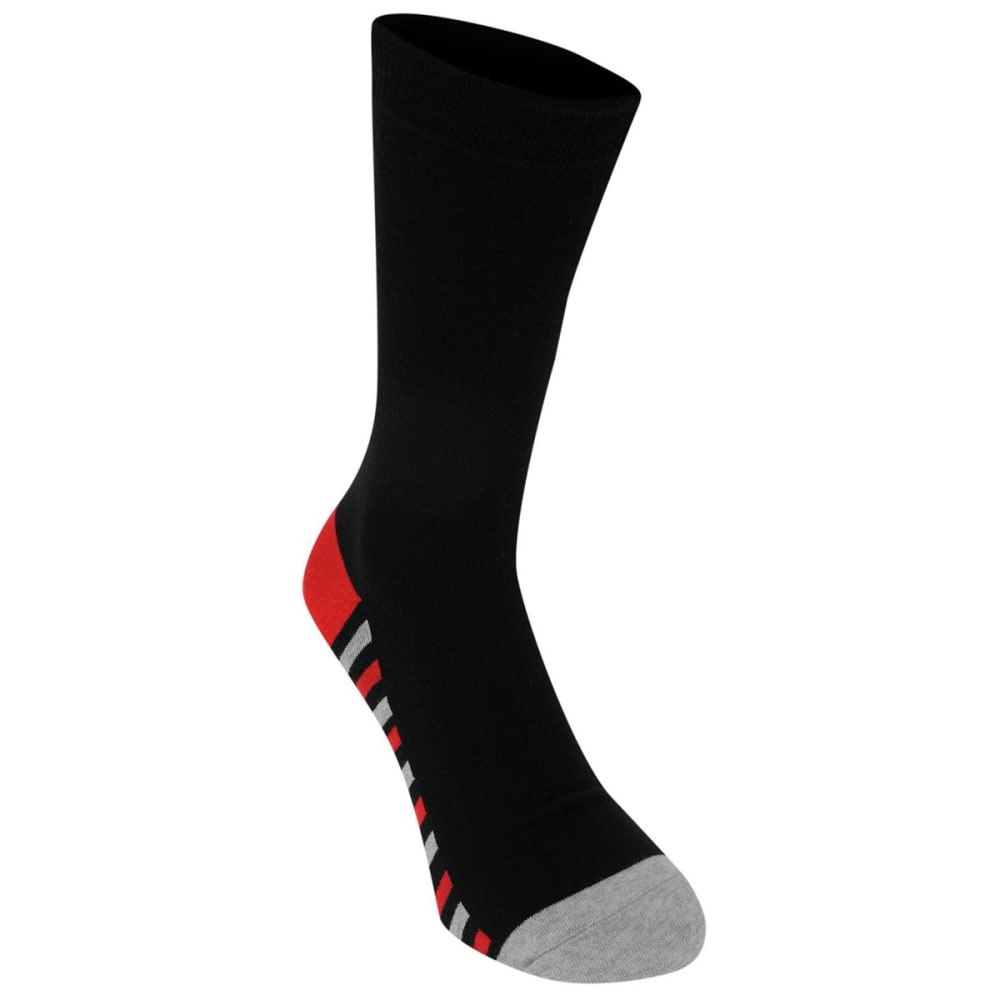 KANGOL Men's Formal Socks, 7-Pack - Colour Str Sole
